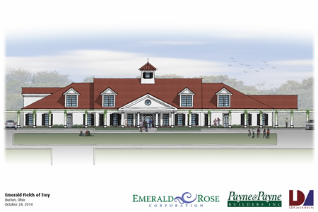 Emerald Fields of Troy Architectural Drawing